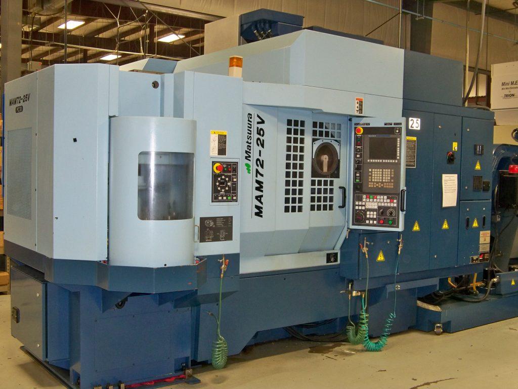 CNC Machining Centers – Paramount Machine Company Inc